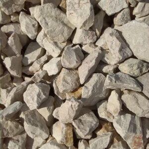 Fehér sziklakerti kő 11-16 cm