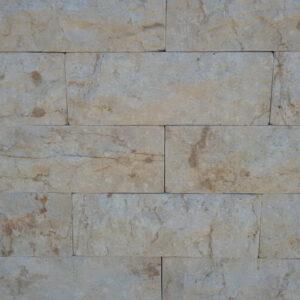 Travertin ciklop 8x22 cm (fehér)